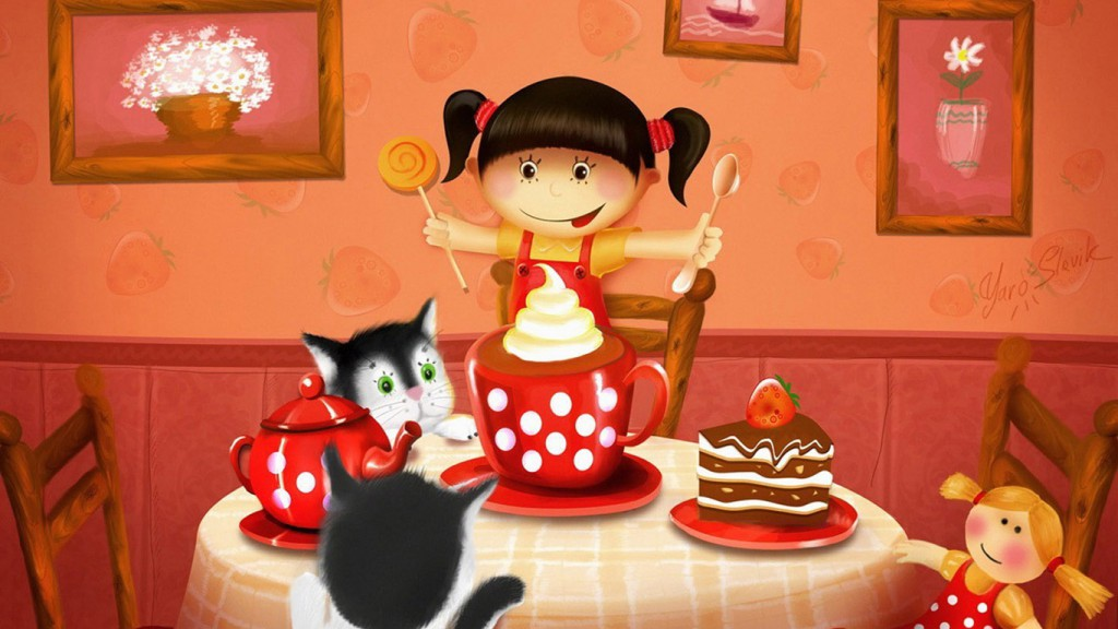 Birthday Party Wallpapers HD 1366x768